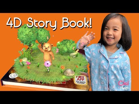4D Story Book Little Bears Big Adventure Hippo Magic | Storybook Reading for for Toddlers