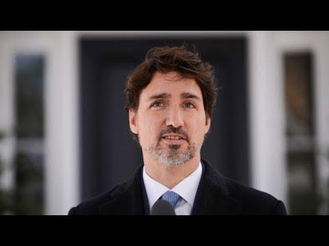 COVID-19 update: Trudeau