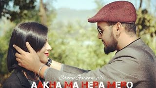 chetan gautam jr aakha ma hera mero ft b maisnam dhanu pyakurel ii official music video ii