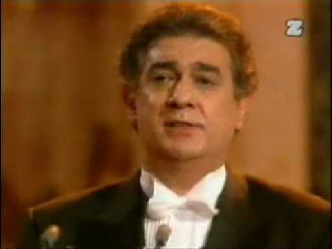 Placido Domingo - La Ultima Canzone (London - 1992)