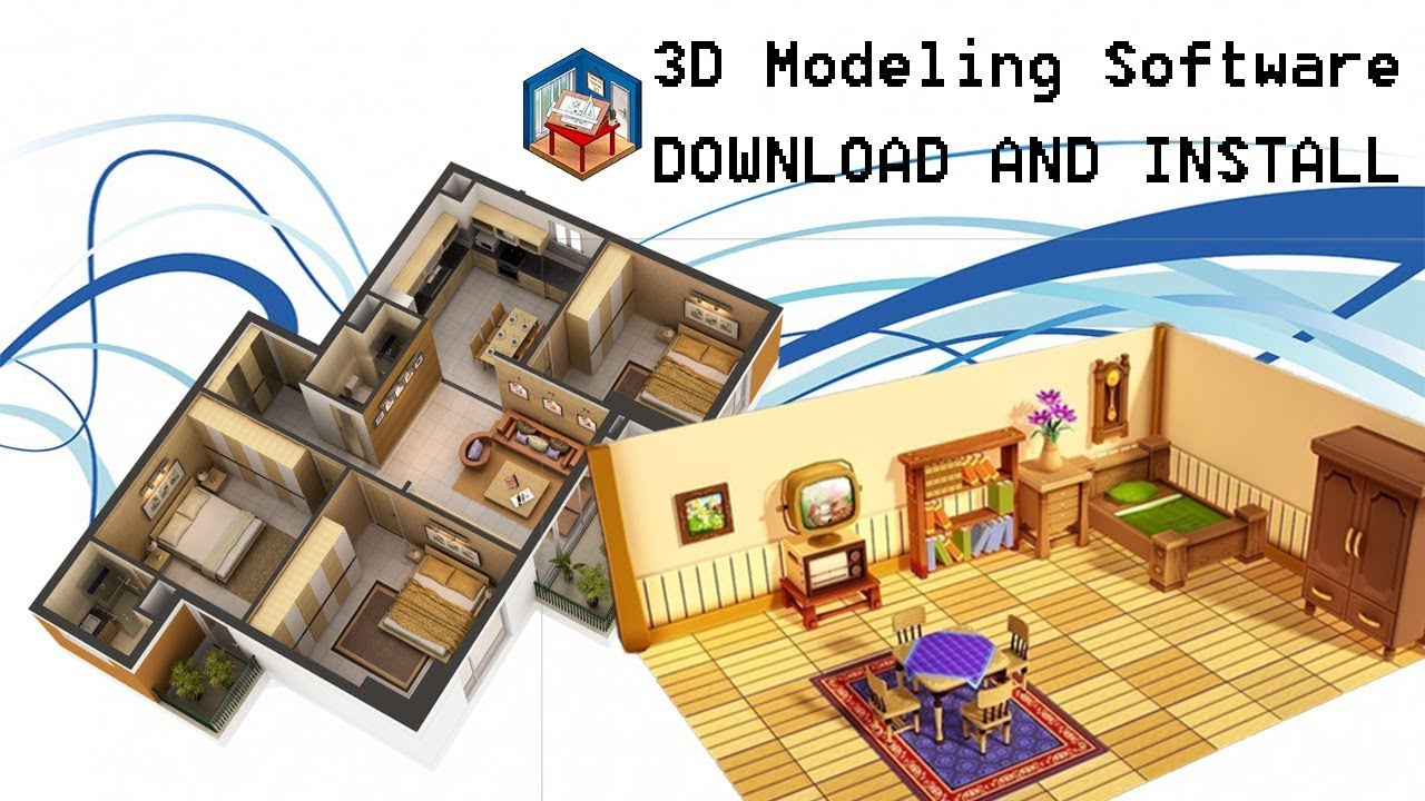 free 3d modeling software sweet home 3d install and. Black Bedroom Furniture Sets. Home Design Ideas