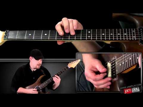 Seventeen   Winger Main Riff Guitar Lesson