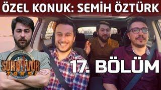 Semih Öztürk'ten Survivor yarışmacısına kırmızı kart! | 17. Bölüm | Survivor Taksi