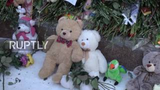 Russia  Nefteyugansk mourns after ten children killed in deadly road accident