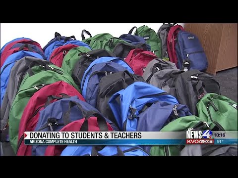 AZ Complete Health delivers supplies to Southside Community School