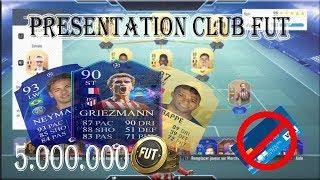 [Fut19] Presentation Club : Un club a 5 millions de credit (0 euro) !!