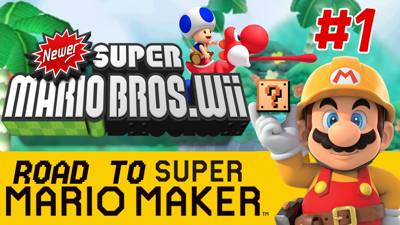 Squishy Super Mario Maker : Newer Super Mario Bros. Wii: Who s That Yoshi!? - PART 1 - Road to Super Mario Maker - YouTube