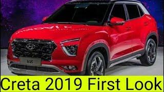 Hyundai Creta 2019 ix25 First Look & Detail Review