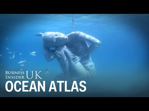 Ocean Atlas is the world's largest underwater sculpture