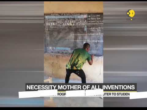 Watch example of 'Necessity is the mother of all inventions'
