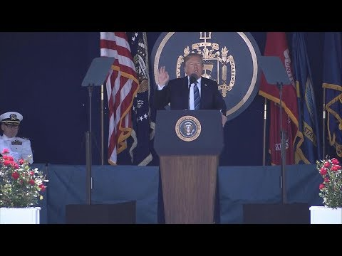 Pres. Donald Trump gives commencement speech at U.S. Naval Academy | ABC News
