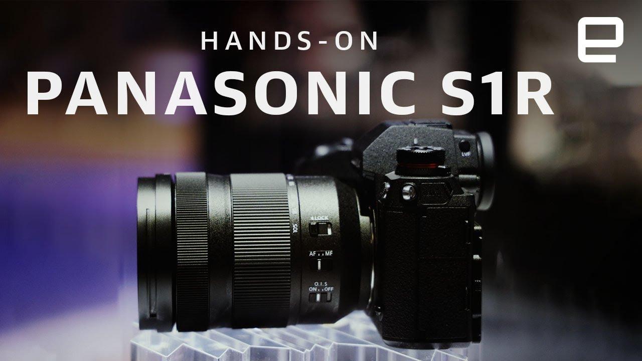 Panasonic S1r First Look Full Frame Mirrorless Camera