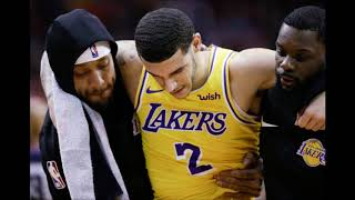 LONZO BALL OUT WITH ANKLE SPRAIN FOR AT LEAST ONE MONTH