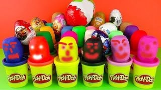 Kinder Surprise Eggs play doh Star wars marvel маша и  медведь peppa pig キンダーサプライズのおもちゃ