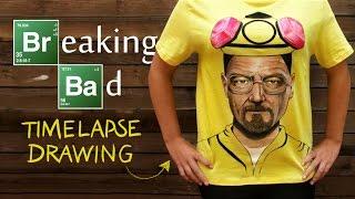 Time Lapse drawing - Heisenberg / Breaking Bad