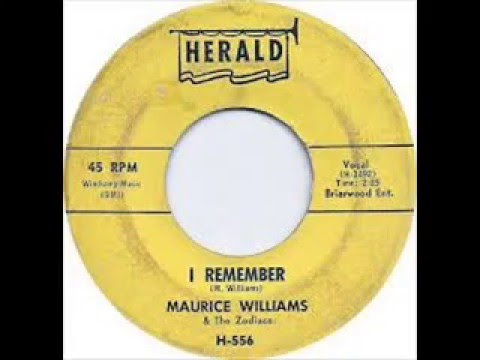 Maurice Williams and The Zodiacs  - I Remember
