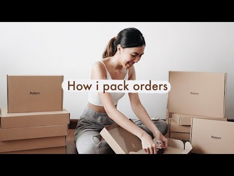 HOW I PACK ORDERS + SHOPEE HAUL (PACKAGING MATERIALS FOR ONLINE SELLING | PHILIPPINES )