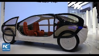 A glimpse of future of driving at Auto Shanghai 2021