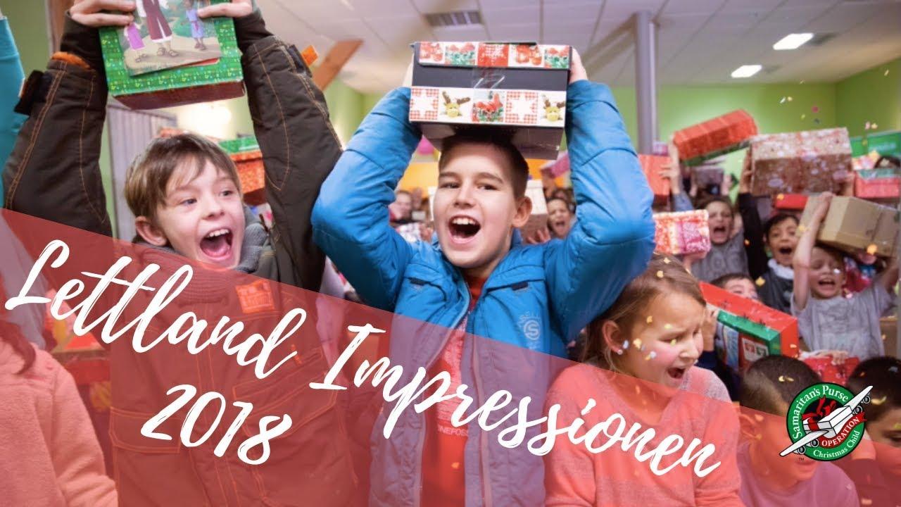 Schuhkarton Weihnachten.Impressionen 2018 Weihnachten Im Schuhkarton In Lettland