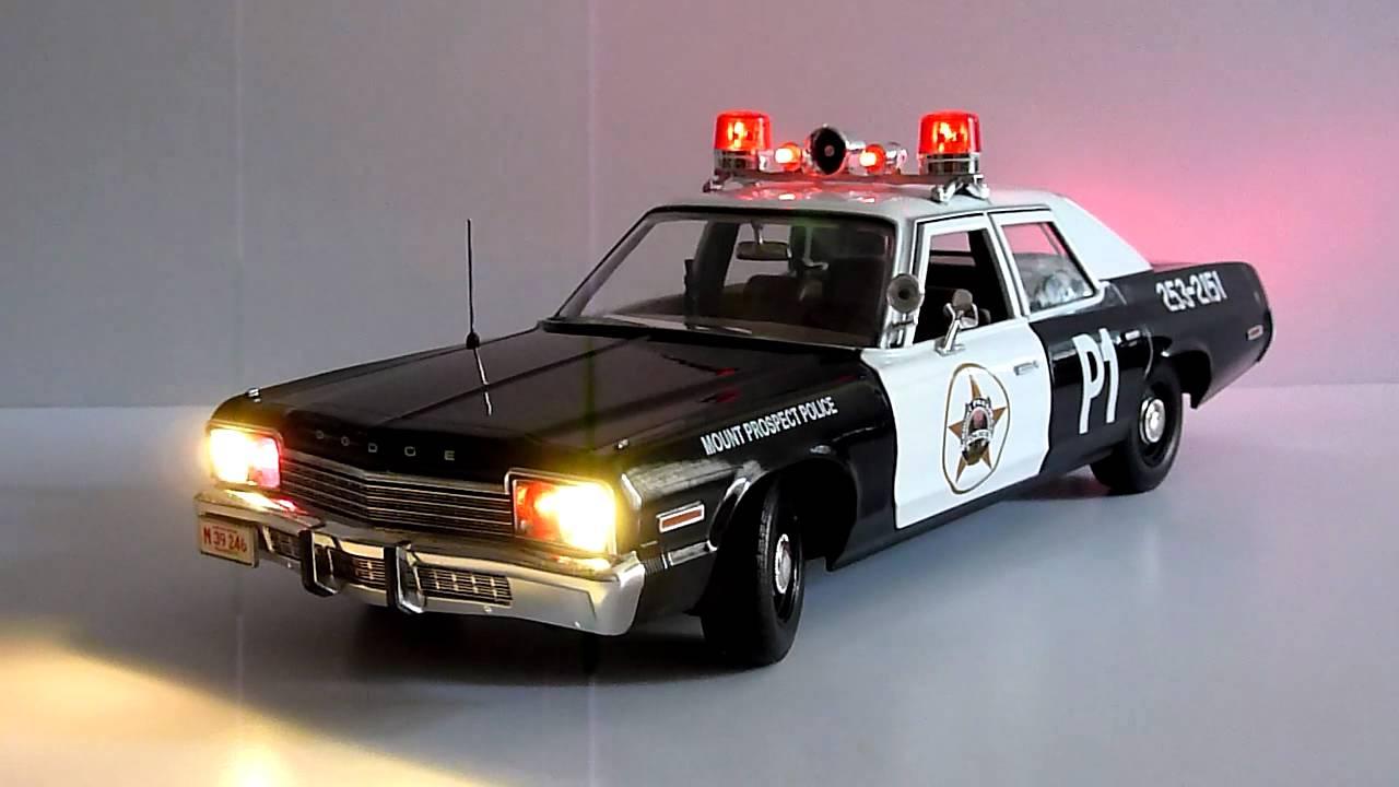 Ertl 1 18 Dodge Monaco Police Car Youtube