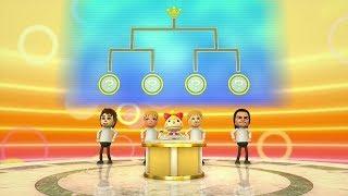 Wii Party U Challenge Showcase - Tabletop Tournament (Elimination & Round Robin)