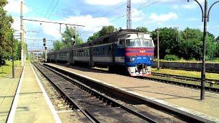 Дизель-поїзд ДР1А-194(209) сполученням Львів-Ходорів
