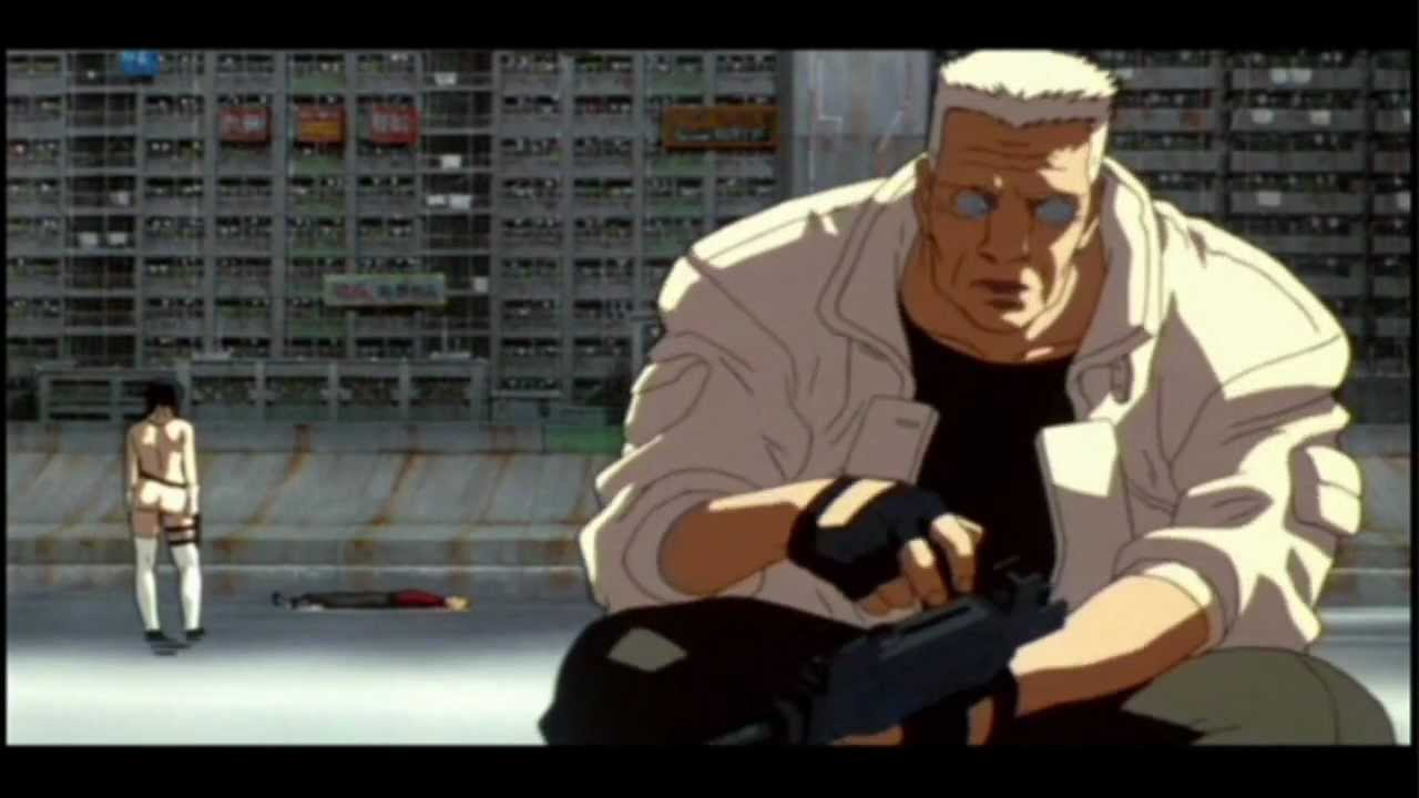 Ghost In the Shell- Chase Scene (720p)