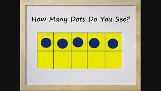 10 Frames Flash Card Game for Children