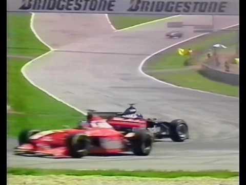 1998 Austrian GP - Start Chaos