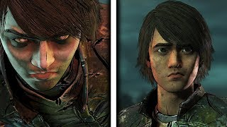 James in Episode 4 - The Walking Dead: The Final Season Take Us Back Finale Discussion