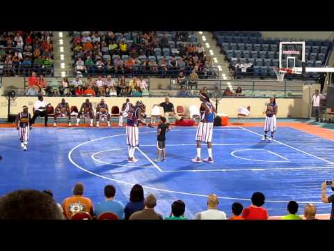 Faisal Starring with the Harlem Globe Trotters in Abu Dhabi - 2012