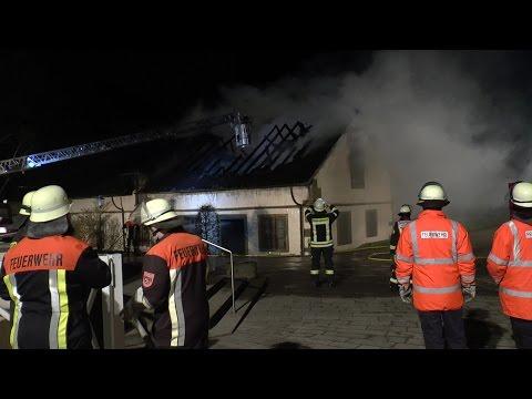 Kloster Maria Bildhausen: Großbrand in Behinderteneinrichtung