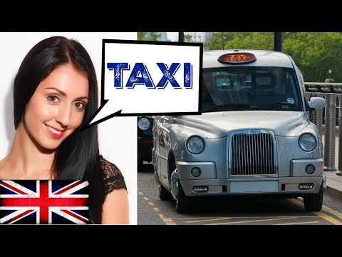 TAKE A TAXI RIDE WITH ME? (ENGLISH VOCABULARY & PHRASES) GETTING AROUND IN A TAXI / Learn English