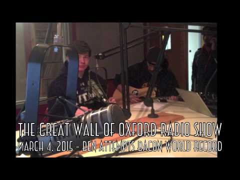 The Great Wall of Oxford Radio Show 3-4-2015 FULL SHOW
