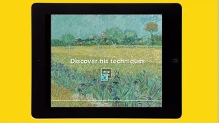 New release Touch Van Gogh - Free App for Tablets - Van Gogh Museum