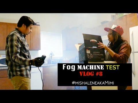 Mini Fog Machine 400 Watt Test