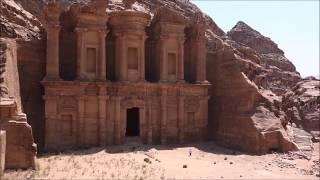 ヨルダン 1人旅 @ ペトラ遺跡 エド・ディルへの道 Alone Trip In Jordan @ Petra The Way Of Ad Deir