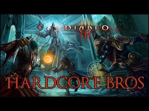 Diablo 2 - HARCORE BROS - Part 4 (and HotS games)