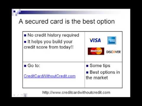 How To Apply For Credit Card Credit Cards For People With No Credit