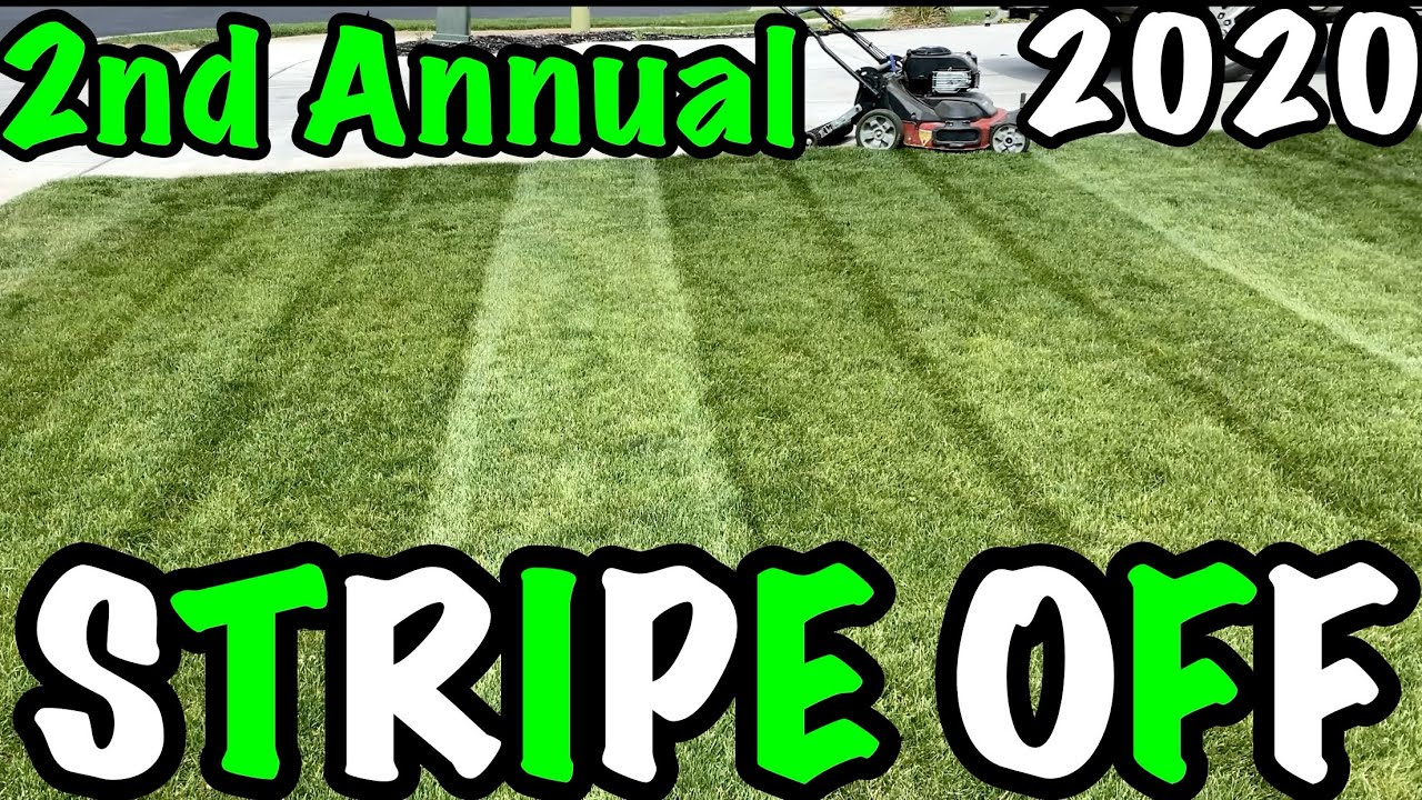 2nd Annual Stripe Off Competition | Lawn Stripes | Grass Stripes