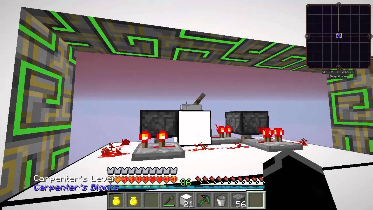 Koejott's Minecraft 1.7.10模組生存 第五十二集 隱藏式2*2活塞門 - YouTube
