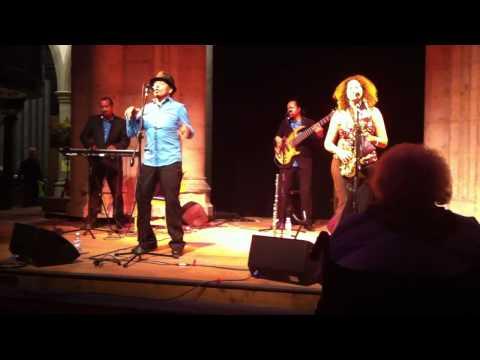 "Coco Xpress salsa band play Caribbean style Juan Luis Guerra's ""Los Mangos Bajitos"""