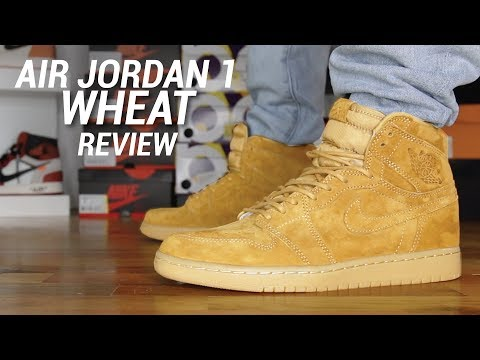 AIR JORDAN 1 WHEAT REVIEW
