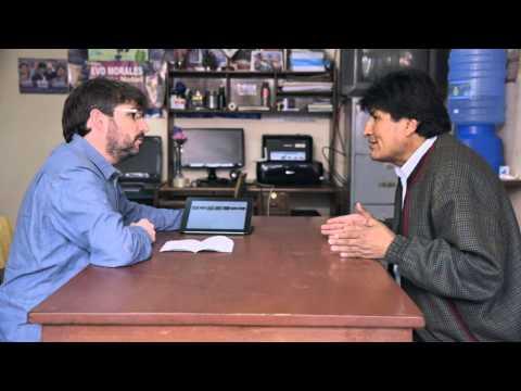 """Evo Morales: """"Antes iban a Harvard y ahora vienen a estudiar nuestras políticas"""" - Salvados"""