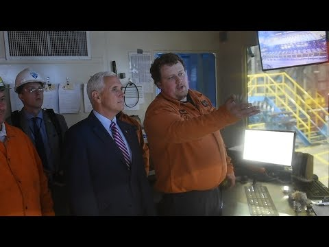 VP Mike Pence tours Nucor mill, tells Auburn workers 'steel is back!' (video)