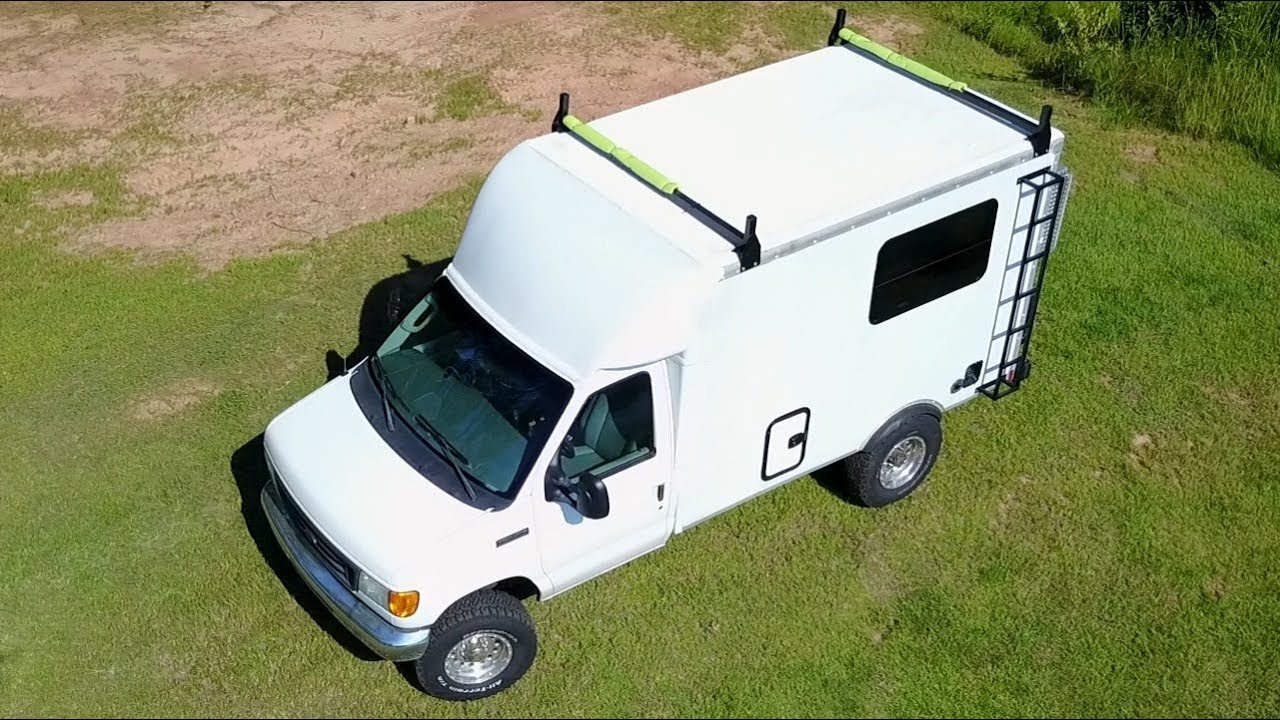 hight resolution of tour my 17ft ford e350 box truck campervan progress so far
