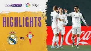 Real Madrid 2-0 Celta Vigo |  LaLiga 20/21 Match Highlights