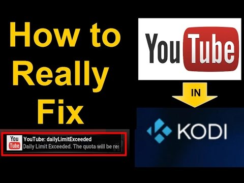 YouTube Fix for KODI