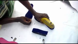 how to make high  heels shoe sole