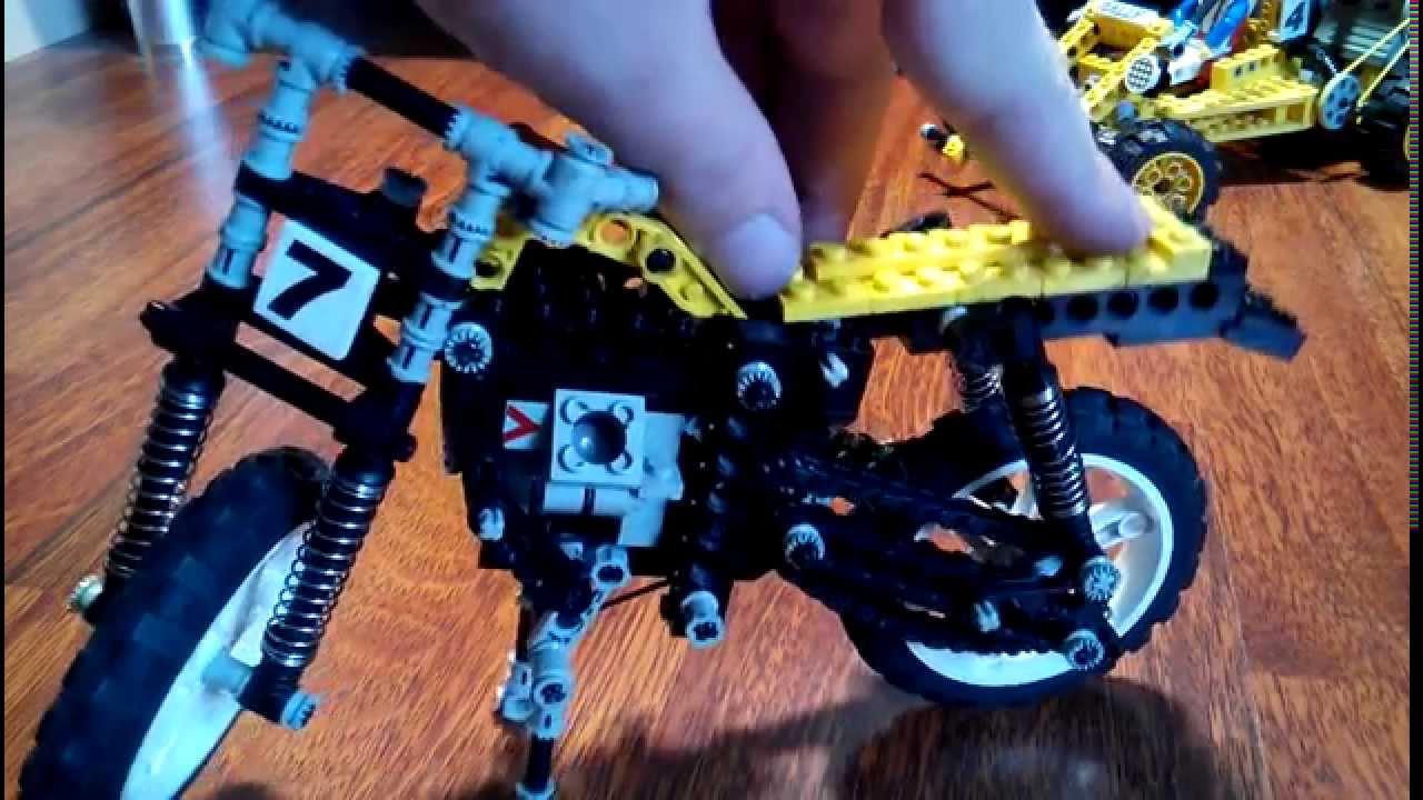Lego Technic Motorcycle 8838